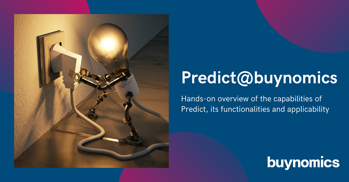 Product Demo: Predicting Prices with Machine Learning | buynomics