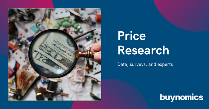 Price Research – data, surveys, and experts
