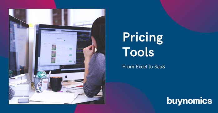 Pricing Tools – from Excel to SaaS