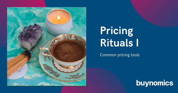Pricing Rituals I - common pricing tools
