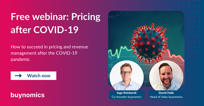 Webinar: Pricing and Revenue Management after COVID-19 | buynomics