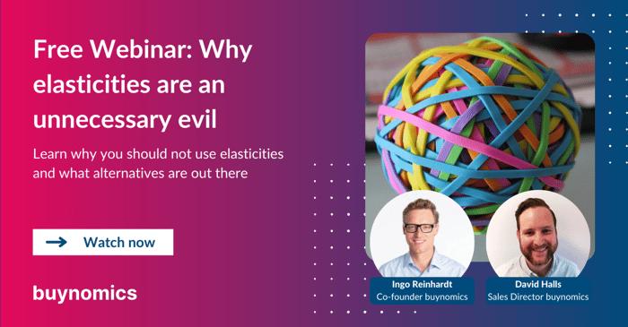 Webinar: Why Elasticities are an Unnecessary Evil