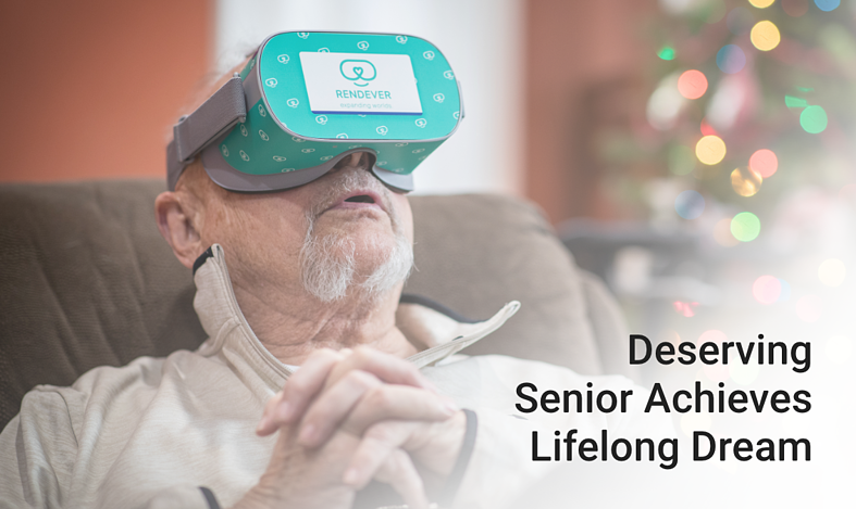 Deserving Senior Achieves His Lifelong Dream
