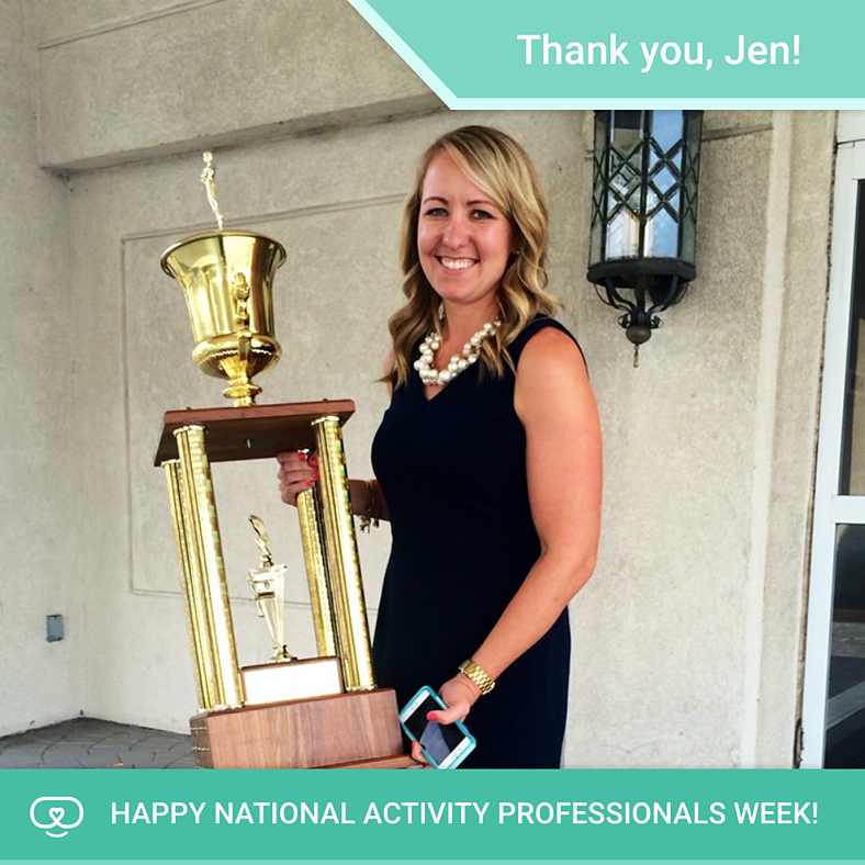 Celebrating Activity Professionals Week | Jen S.