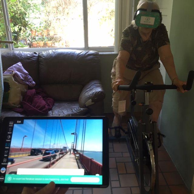 Biking Across the Golden Gate Bridge with Expanding Impact