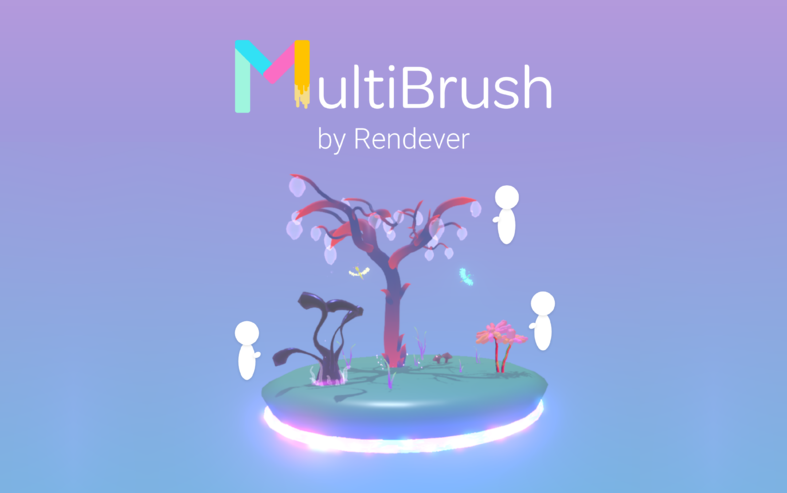 NEWS: MultiBrush by Rendever Now Available on SideQuest, Providing Artists with a Collaborative Tool in Virtual Reality