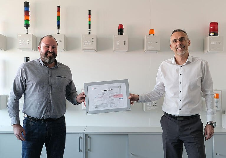 Our new ISO 9001 certificate is here!