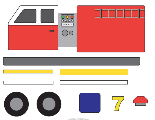 Fire-Truck-Preschool-Template