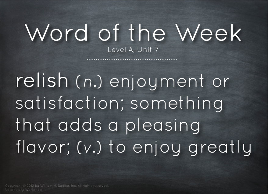 Vocabulary-Word-Of-The-Week