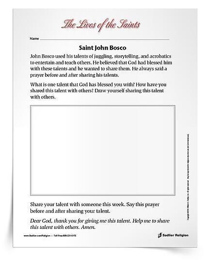 January Feast Days Saint John Bosco