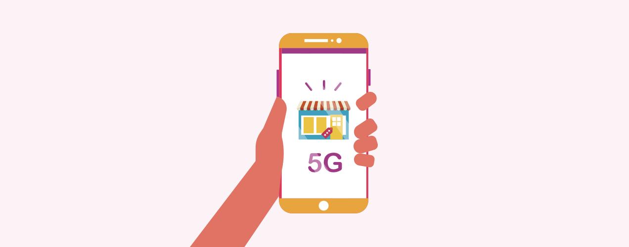 Ecommerce y red 5G envíos última milla