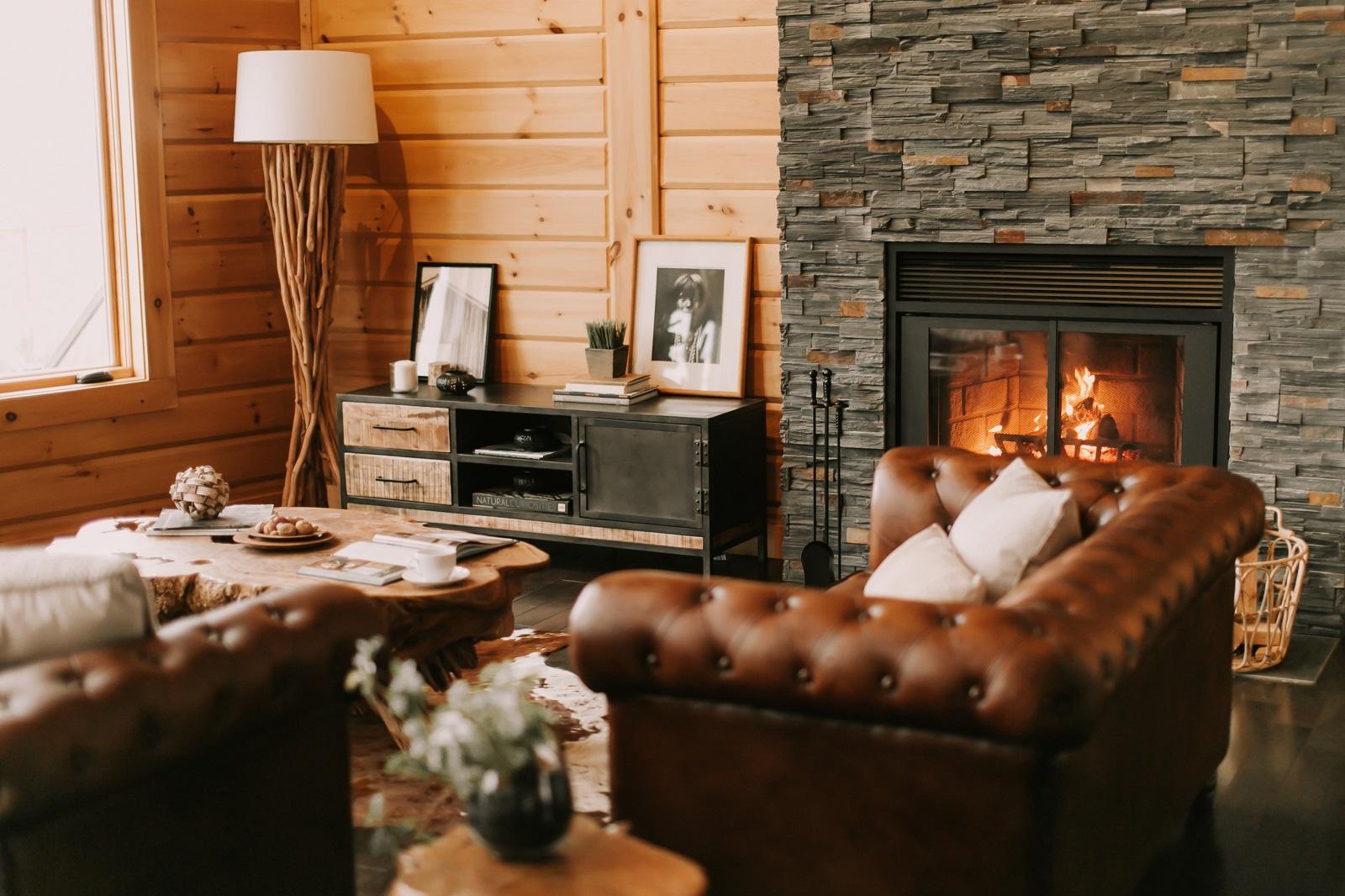 Timber Block model home