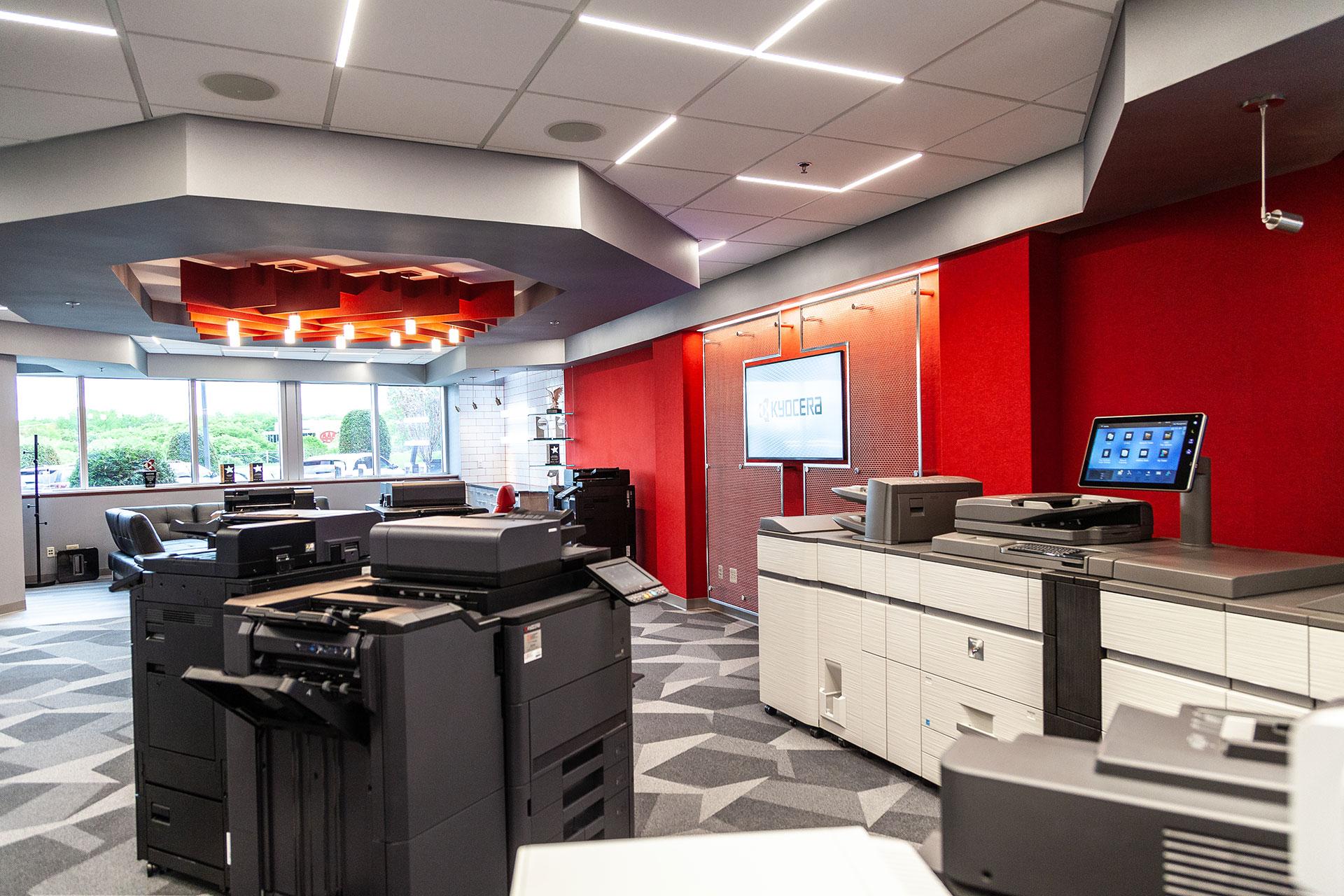 Coordinated Business System Showroom Floor