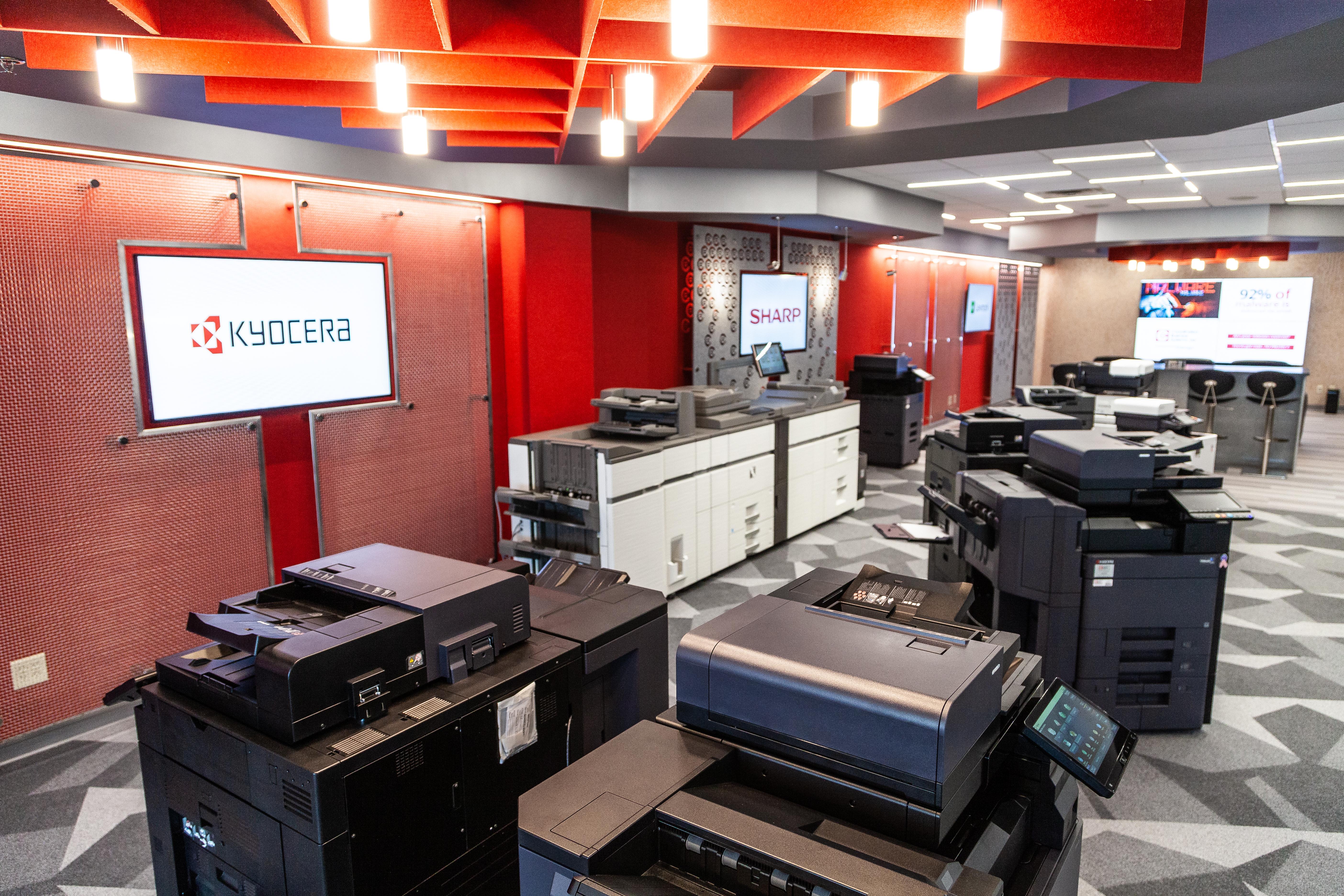 Coordinated Business Showroom Floor