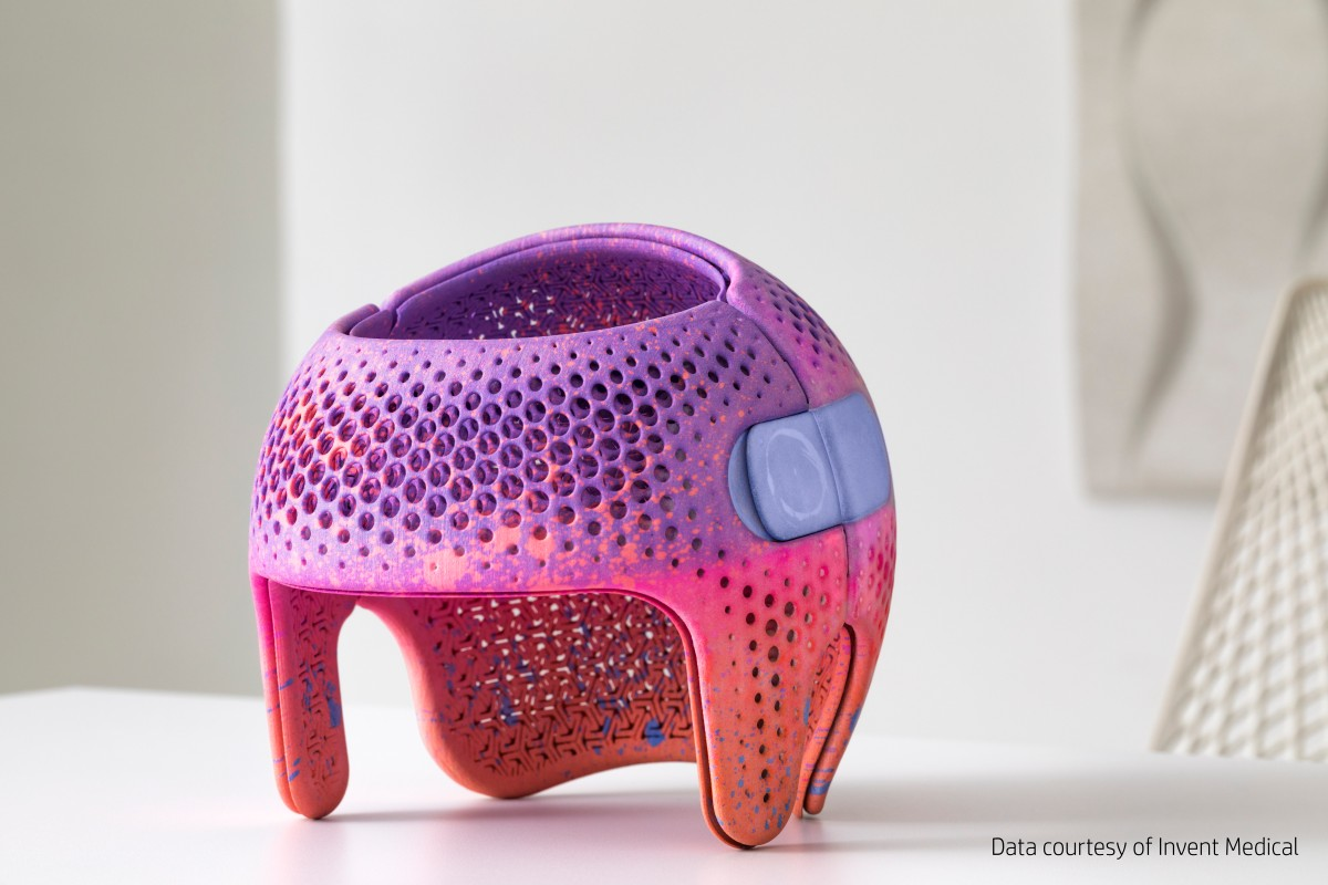 head protection HP 3D Printing Application
