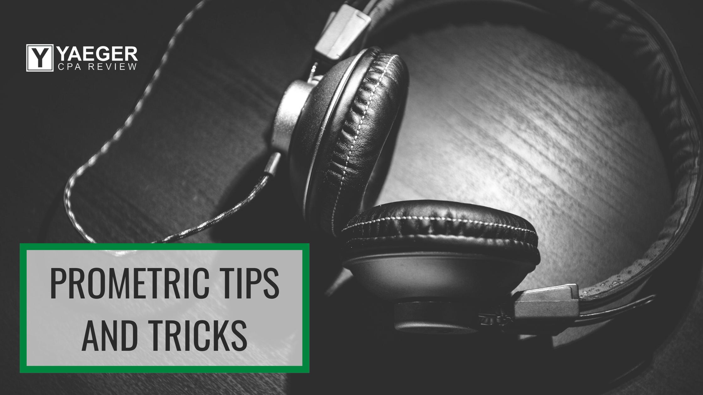 Prometric Tips and Tricks