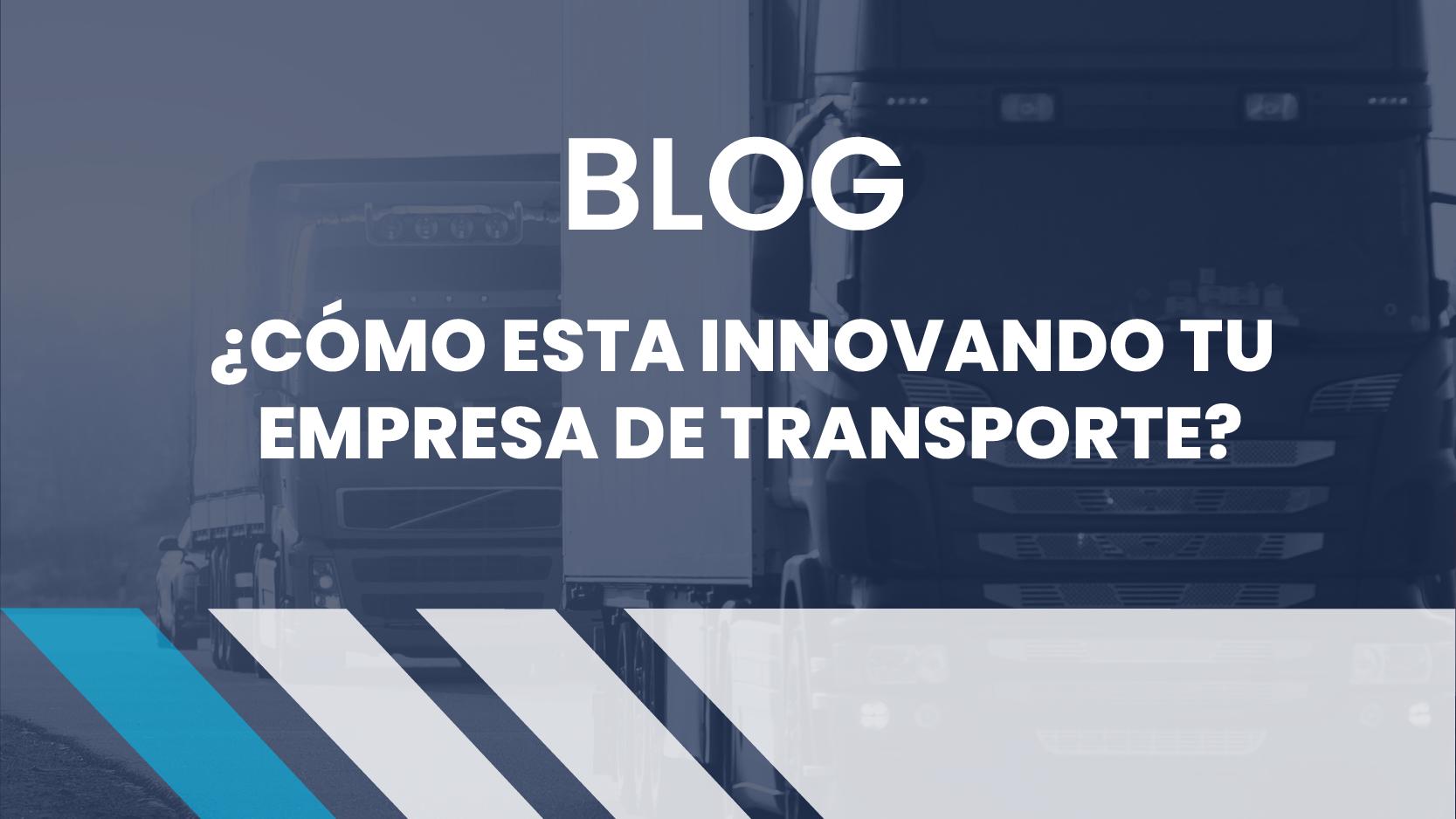 innovación en transporte