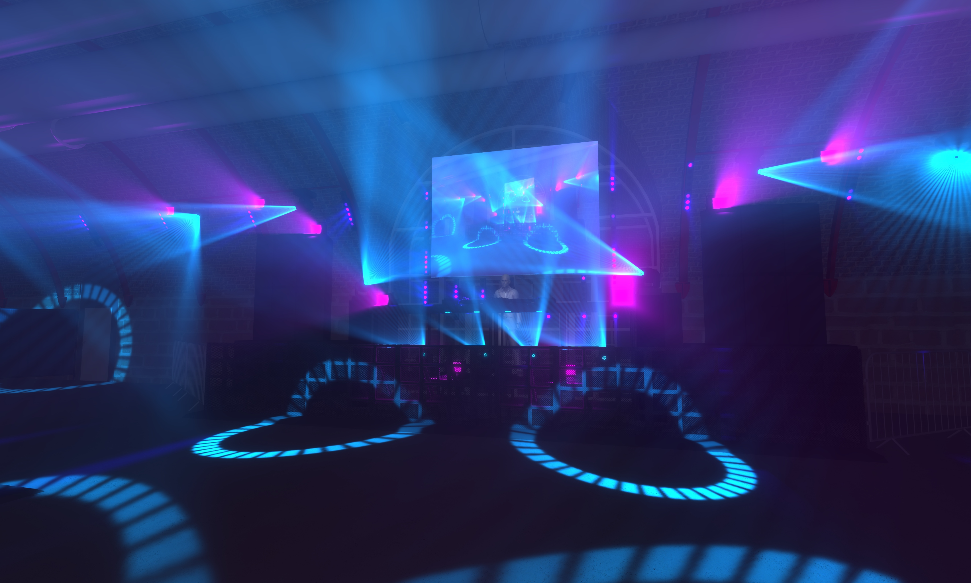 Lighting designers create virtual club experience with Vectorworks