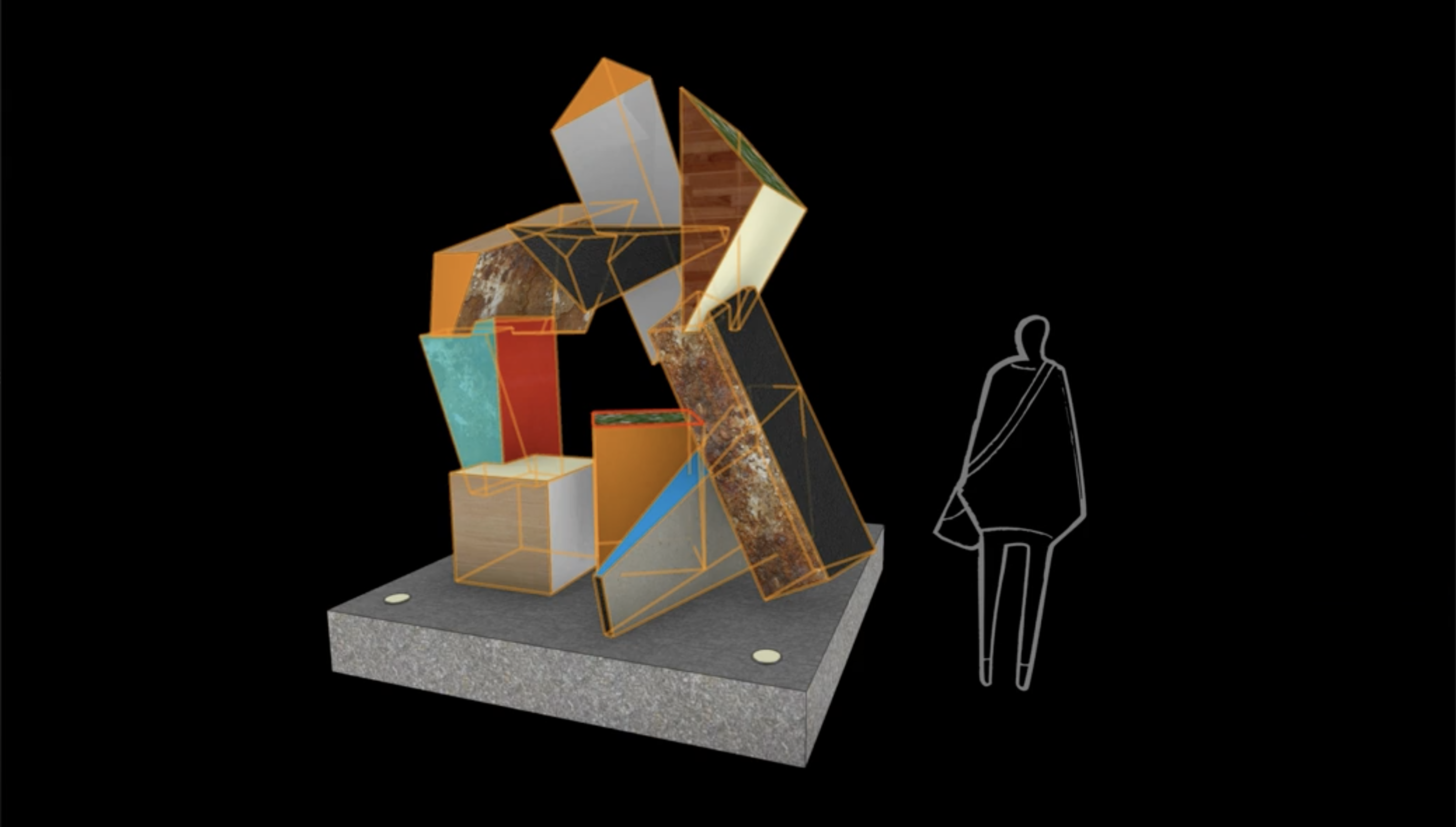 Vectorworks 2022's Per Face Texturing Mapping Feature