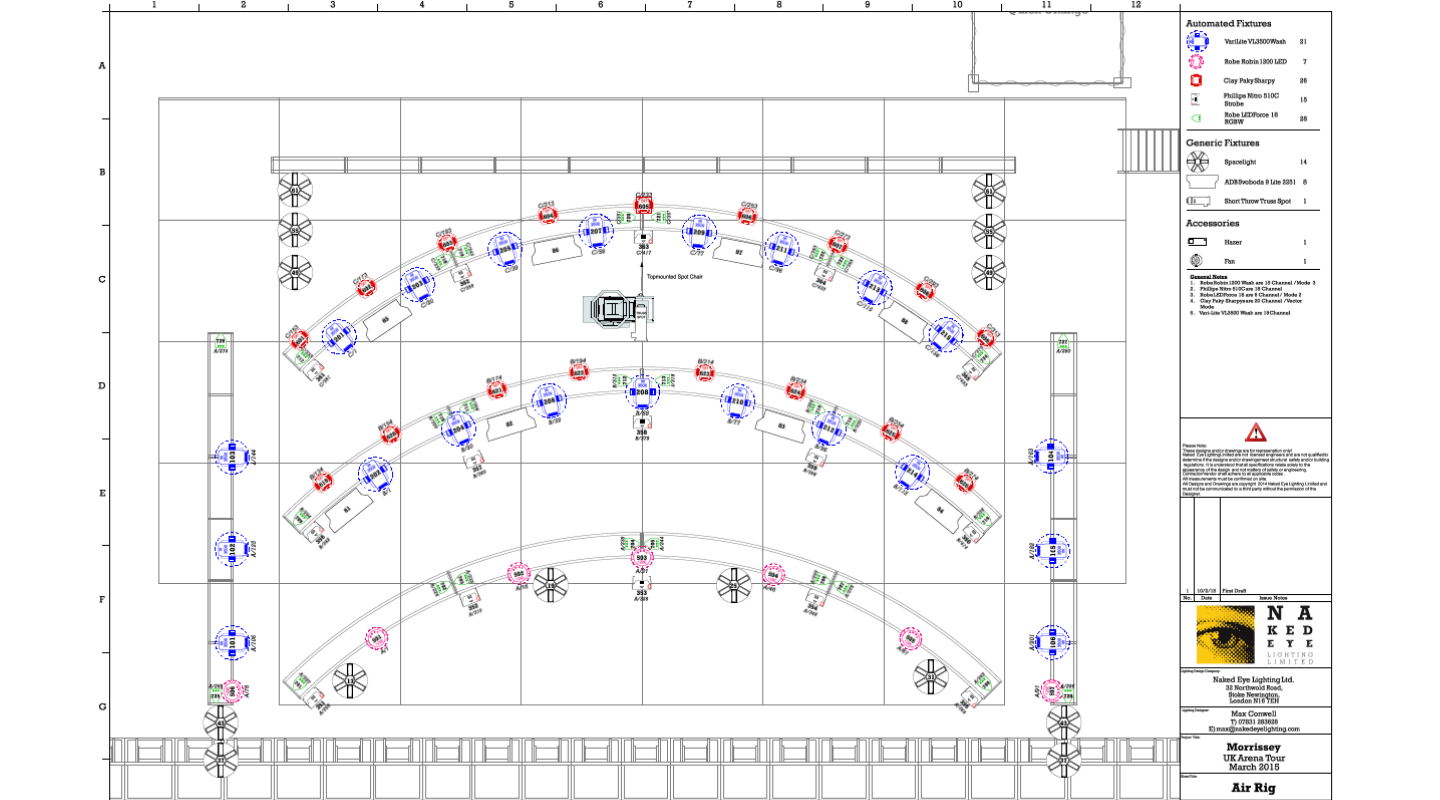 Common Entertainment Workflow Constraints Solved with Vectorworks