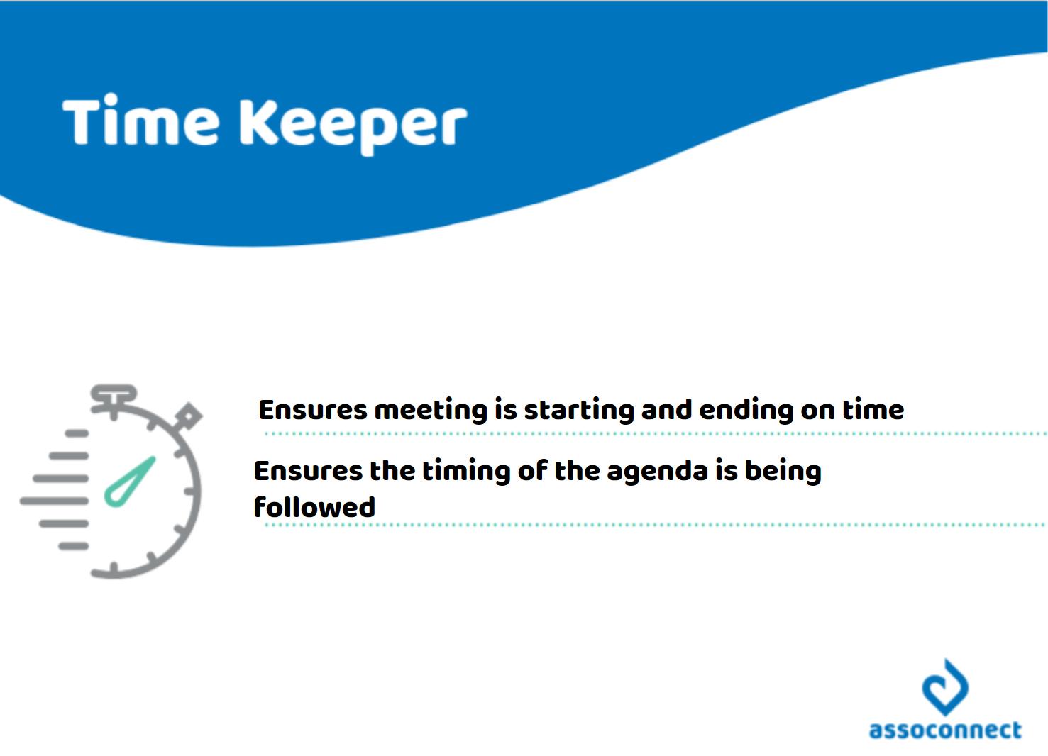 best-practices-nonprofit-board-meetings-timekeeper