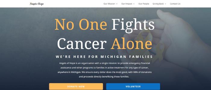 best-nonprofit-websites-header-impact