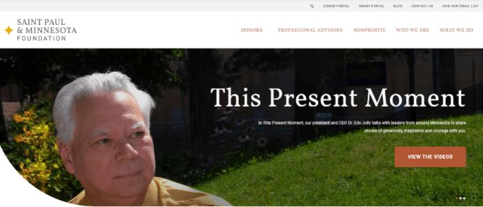 best-nonprofit-websites-foundation