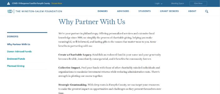 best-nonprofit-websites-donation-dependent