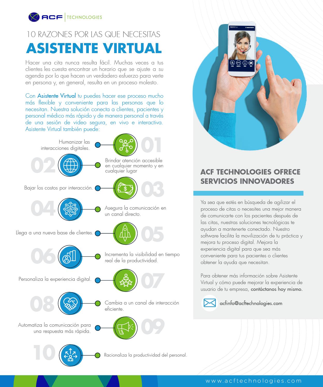 10 razones por las que necesitas Asistente Virtual