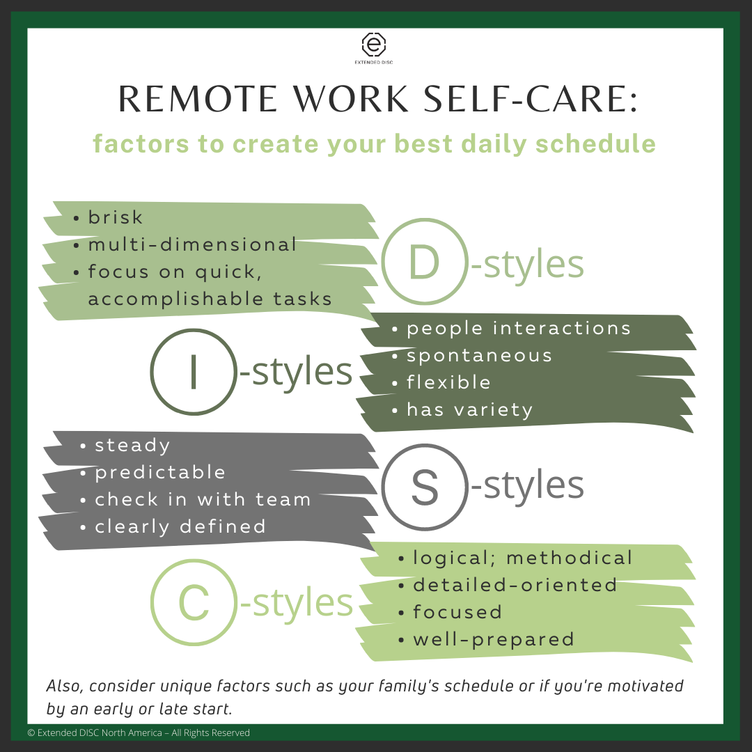 21.01.13 Self Care - Work Schedule