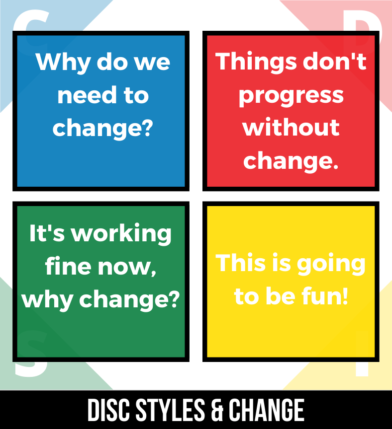 DISC Styles and Change