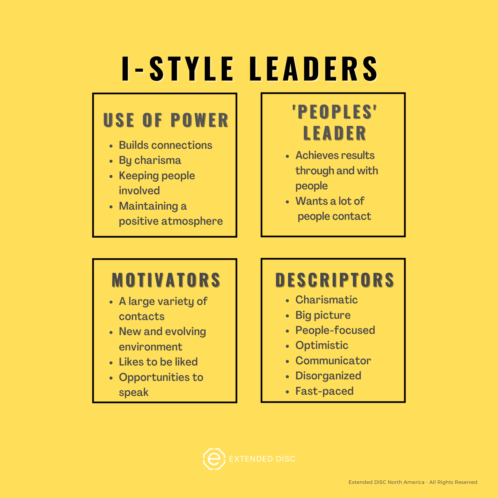 I-Style leaders