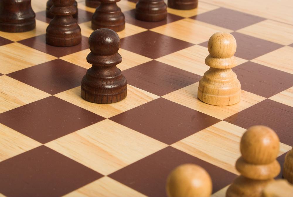 battle of pawns