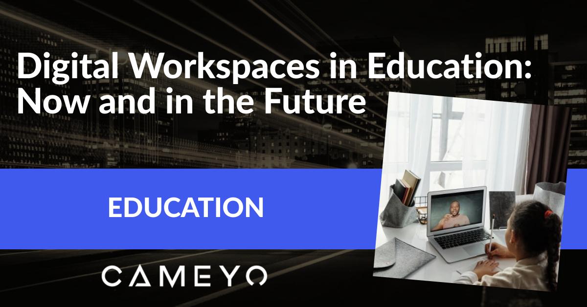 Image for blog post on digital workspaces for Education
