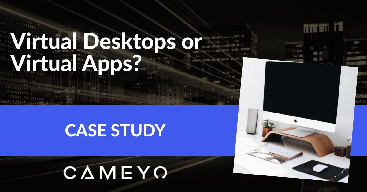 Virtual Desktops Virtual Apps Blog