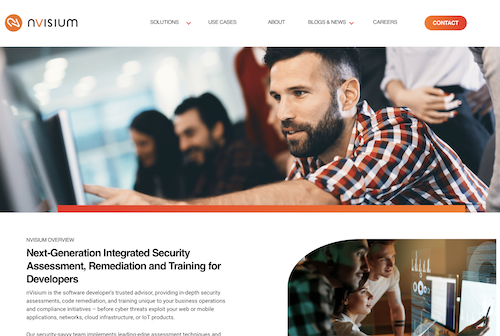 nVisium blog new website