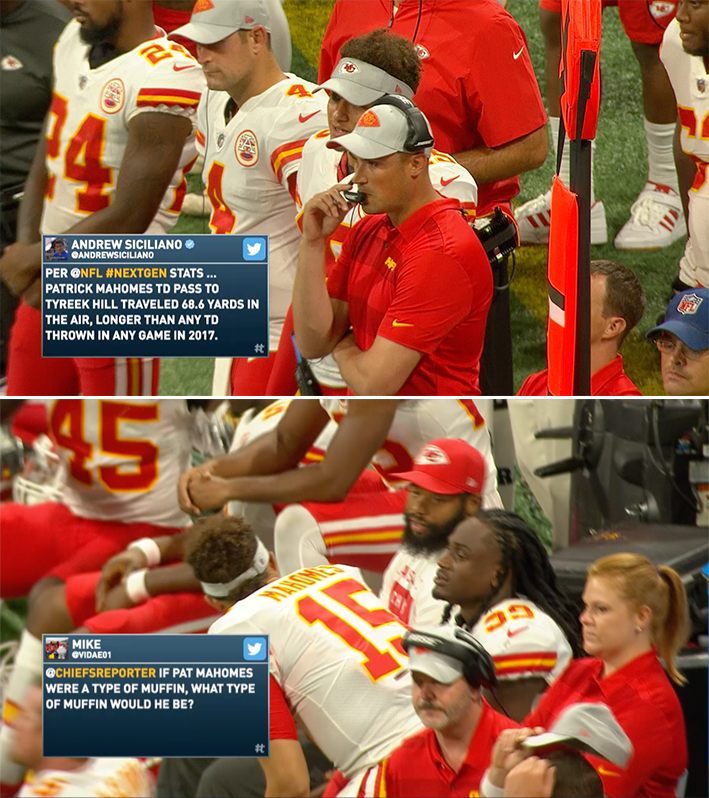 Kansas City Chiefs Social Lower Third produced with Tagboard