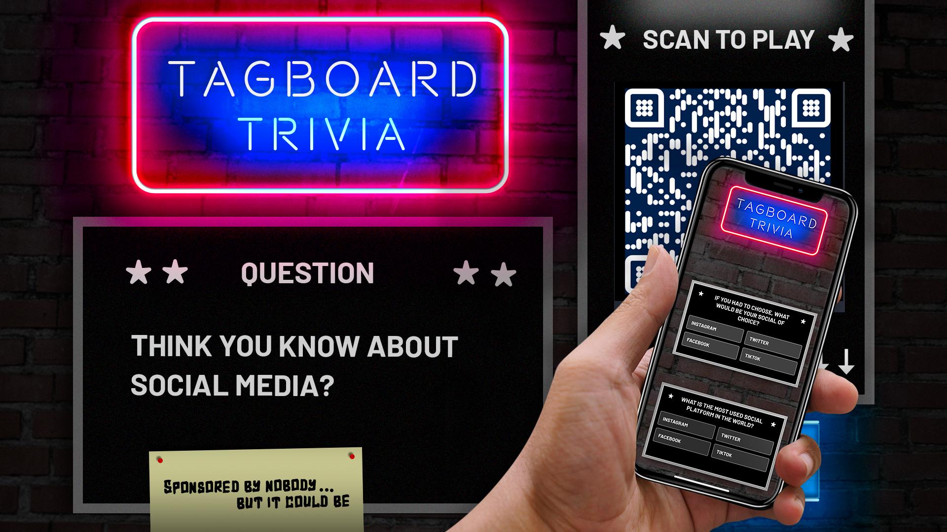 Tagboard Interactive Trivia