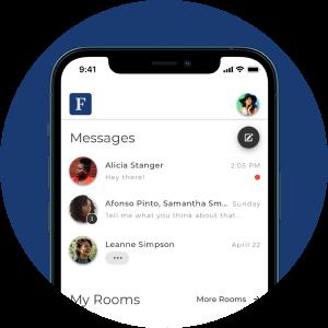 Forbes app screenshot of Messages
