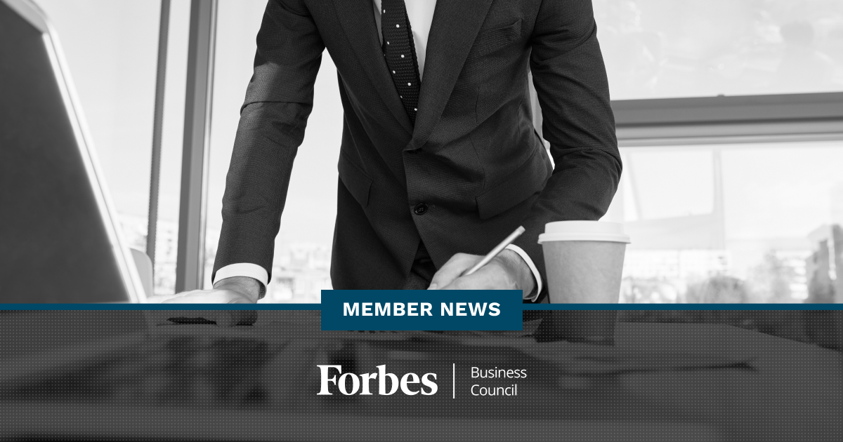 Forbes Business Council Member News - January 2021