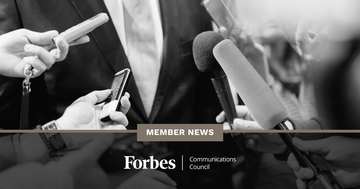 Forbes Communications Council Member News - August 2020