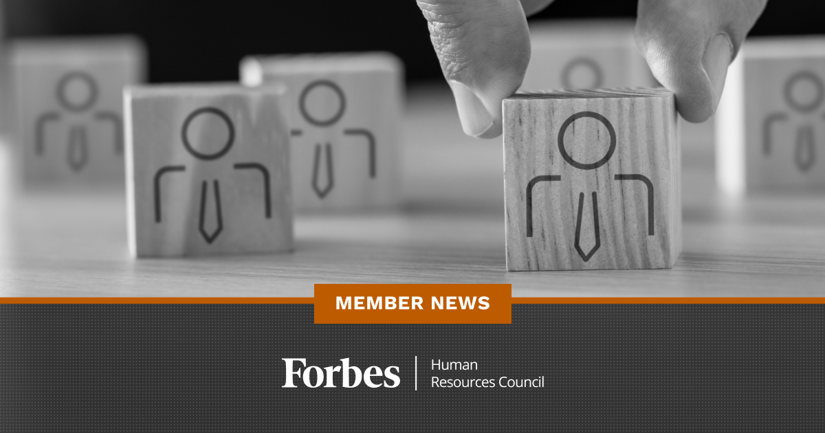Forbes Human Resources Council Member News - November 2020