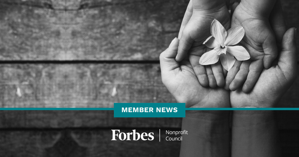 Forbes Nonprofit Council Member News - July 2020
