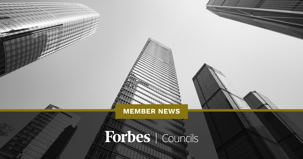 Forbes Councils Member News - September 2020