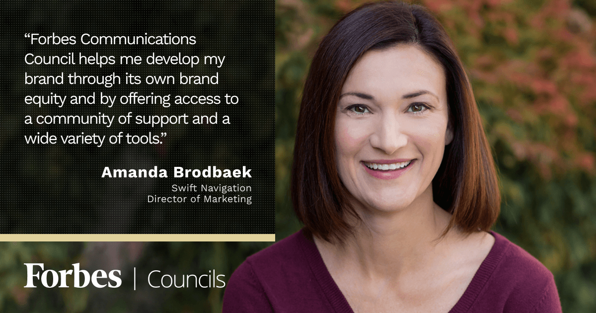 Forbes Councils Gives Amanda Brodbaek a Vehicle for Educating Consumers and Building Awareness