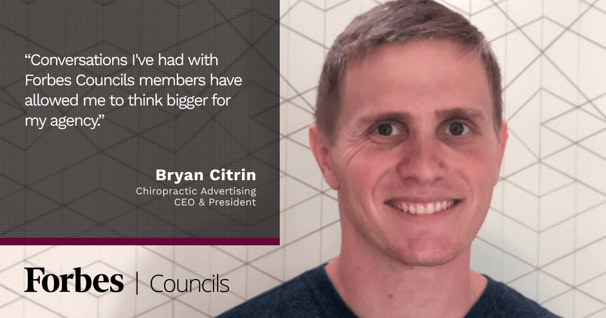 Forbes Agency Council member Bryan Citrin