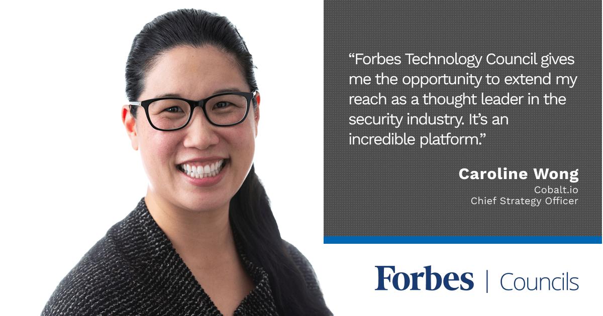 Forbes Technology Councils member Caroline Wong