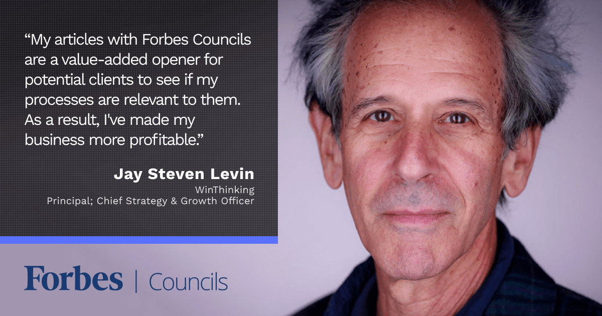 New Clients Find Jay Steven Levin Through Forbes Councils Articles