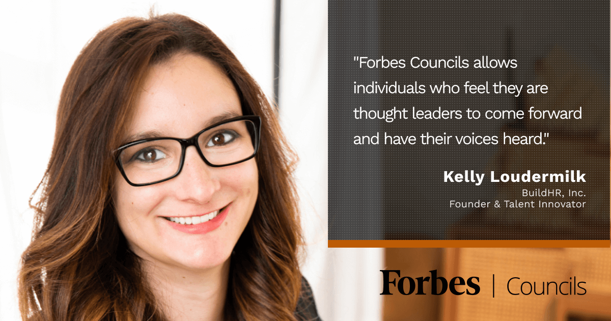 Forbes Councils Gives Kelly Loudermilk a Thought Leadership Platform