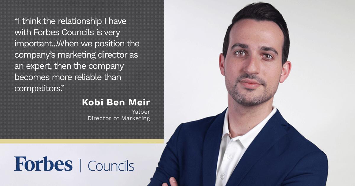 Forbes Communications Council member Kobi Ben Meir